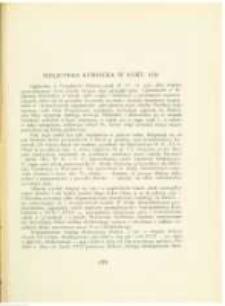 Bibljoteka Kórnicka w roku 1930. Pamiętnik Biblioteki Kórnickiej Z. 2.