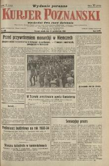 Kurier Poznański 1932.10.22 R.27 nr485