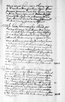 Akta prawno-majątkowe Stanisława Wincentego i Doroty z Broniszów 1v. Radomickiej Jabłonowskich i ich syna Antoniego Jabłonowskiego