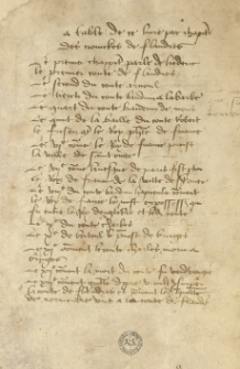 Kronika Flandrii do r. 1384