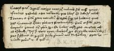 List z XV wieku w sprawie książek